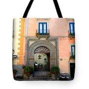Terrazza Marziale Restaurant In Sorrento Tote Bag