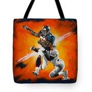 Terrell Davis II Tote Bag by Don Medina