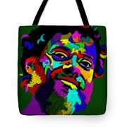 Terrence Mckenna Portrait Tote Bag