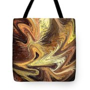 Terrestrial Fire Abstract Tote Bag
