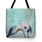 Terri's Heron Tote Bag