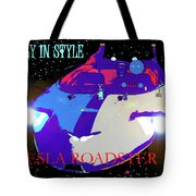 Tesla Roadster 10 Tote Bag
