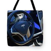 Tesla S85d Cockpit Tote Bag