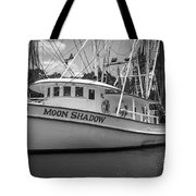 Moon Shadow Working Boat Tote Bag