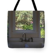 Window Over The Sink Tote Bag