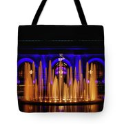 Fountain At Union Station Tote Bag