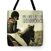 Test Ready Quote Tote Bag