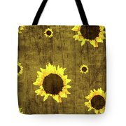 Test Rustic Sunflower Custom Tote Bag