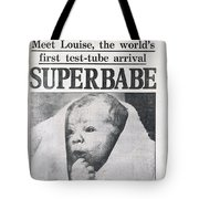 Test-tube Baby, 1978 Tote Bag