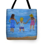 Testing The Water Tote Bag
