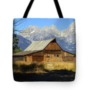 Teton Barn 4 Tote Bag