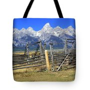 Teton Corral Tote Bag
