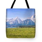 Teton Panorama Tote Bag