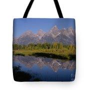 Teton Sunrise 2 Tote Bag