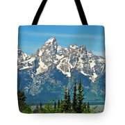 Tetons Across The Valley Tote Bag
