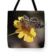 Texan Crescent Butterfly On Marigold-img_1348-2016 Tote Bag