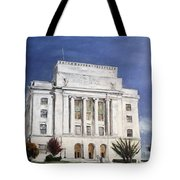 Texarkana Courthouse Tote Bag