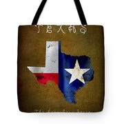 Texas ... The Lone Star State Tote Bag