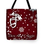 Texas Am Aggies Christmas Card Tote Bag