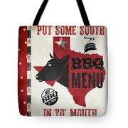 Texas Barbecue 4 Tote Bag