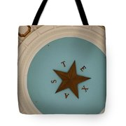 Texas Capitol Dome Lone Star In Austin, Texas, Usa Tote Bag