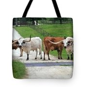 Texas Cattle Guard Tote Bag