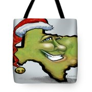 Texas Christmas Greetings Tote Bag