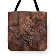 Texas Horned Toad Tote Bag