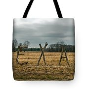 Texas In Tree Branches Tote Bag