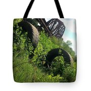 Texas Railway And Tires Tote Bag