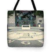 Texas Rangers Logo Tote Bag
