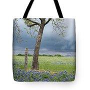 Texas Spring Storm Tote Bag