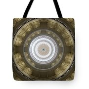 Texas State Capitol - Interior Dome Tote Bag