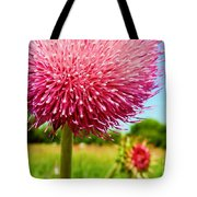Texas Thistle 003 Tote Bag