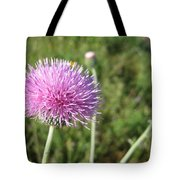 Texas Thistle Tote Bag