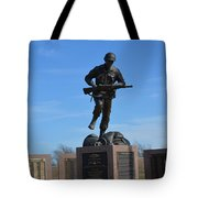 Texas War Memorial Tote Bag