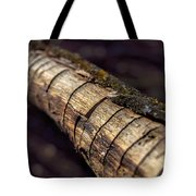 Texteured Branch Tote Bag