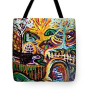 Texture Abstract  Tote Bag