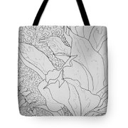 Texture And Foliage Tote Bag