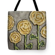 Texture Blooms In Sunshine Tote Bag