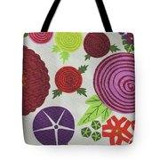 Texture Of Colored Fabric Tote Bag