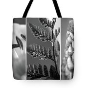 Texture Triptych Tote Bag