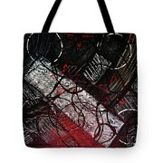 Textured Abstract Art Tote Bag