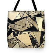 Textured Angles Tote Bag