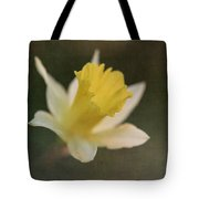 Textured Daffodil Tote Bag