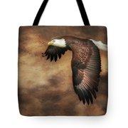 Textured Eagle 2 Tote Bag