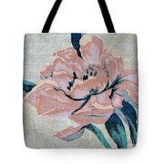 Textured Floral No.2 Tote Bag by Writermore Arts
