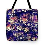 Textured Garden Succulents Tote Bag