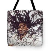 Textured Locs Tote Bag