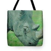 Textured Rhino Tote Bag